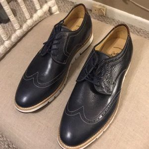 Johnston and Murphy Martel Wingtip shoes